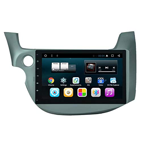 Table de Voiture TOPNAVI Android 7.1 Quad Core pour Honda Fit 2008 2009 2010 2011 2012 2013 Lecteur de Navigation GPS pour autoradio stéréo WiFi 3G RDS Lien Miroir