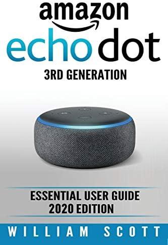 Amazon Echo Dot Essential User Guide Amazon Echo Alexa product image