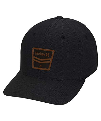 Hurley M DF Hurricane Premium Hat Gorra, Hombre, Black, S/M