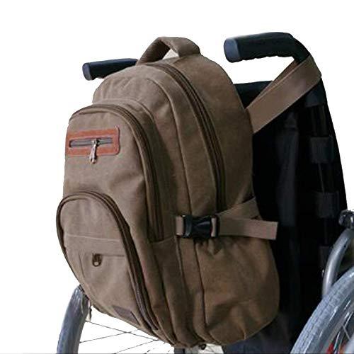Byfjkkl Rollstuhlrucksack Einkaufstaschen Aufbewahrung Für Ältere Und Behinderte Menschen - Passt Für Die Meisten Rollstühle