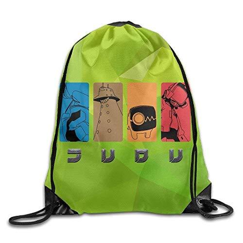 Sac de Sport à Cordon, Sac à Dos de Sport, Sac à Dos de Voyage, Logon 8 US Wrestling Logo Cool Drawstring Bags One Size