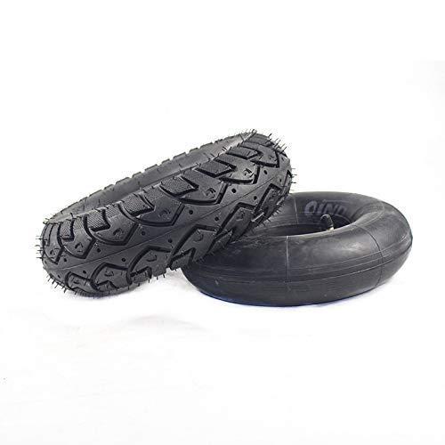 LXHJZ Neumáticos para Scooter Movilidad, 4,10/3,50-4 neumáticos, Tubo Interior Compatible con 47/49CC, Scooter Motocicleta, Mini Quad Dirt Pit Bike, Go-Kart, Piezas neumáticos Gruesos