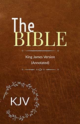 Bible: King James Bible version complete with Apocrypha (KJV) (Illustrated)