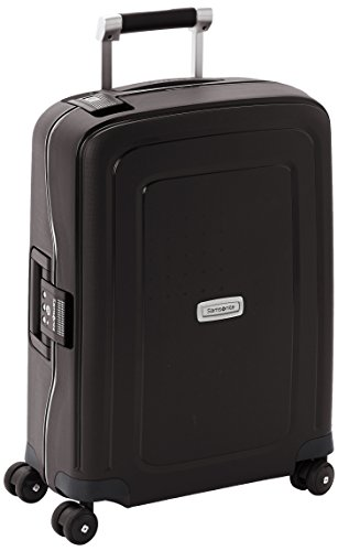 Samsonite S'cure DLX Spinner, S (55cm-34L) - GRAPHITE