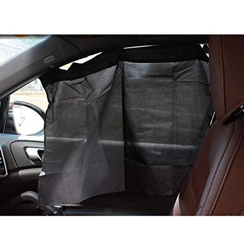 C-J-Xin Verduisteringsgordijnen, 2 stuks Black Mesh Shading Zonnescherm auto Gemakkelijk te gemakkelijk schoon te maken zonneklep 70 * 53cm Install Car Schaduw van de Zon (Size : 70 * 53CM)