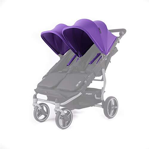 Baby Monsters Set de Capotas para Silla de Paseo Easy Twin - Color Morado
