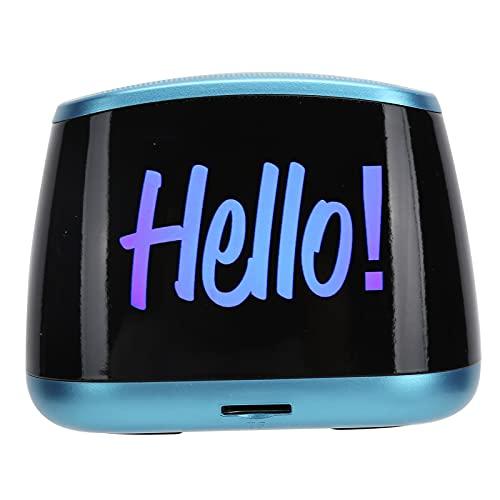 GUSTAR Altavoz Bluetooth inalámbrico versión Bluetooth 5.0, Altavoz inalámbrico Bluetooth para computadora portátil, Tableta, música, Mini Altavoz subwoofer portátil(Azul)