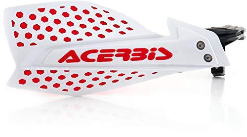 Acerbis X-Ultimate Protège-mains Blanc/rouge