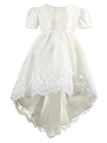 Heritage Christening and Special Occassion wear Angel Robe de baptême, Ecru (Antique White 1), 0-3 Mois Bébé Fille