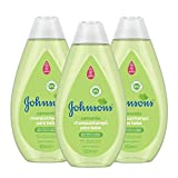 Johnson's Baby Champú Camomila, Ideal para Toda la Familia - 3 x 500 ml