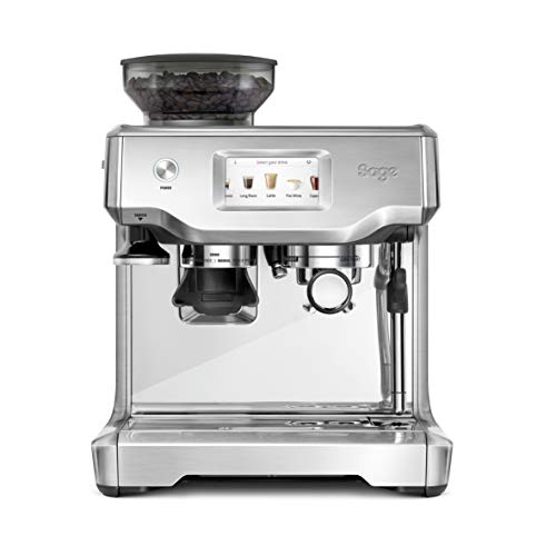 41KqxwJJvSL. SS500  - Sage SES880BSS the Barista Touch Semi Automatic Espresso Machine, 1700 W