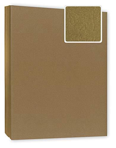 Bindekarton/Deckblatt / Rückblatt, braun 240 g/m² DIN A4, 100 Stück in Lederoptik - Einbanddeckel für Bindungen, Umschlagmaterial