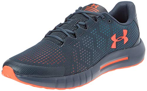 Under Armour mens Micro G Pursuit SE Running Shoe, Wire (402)/Teal Rush, 9