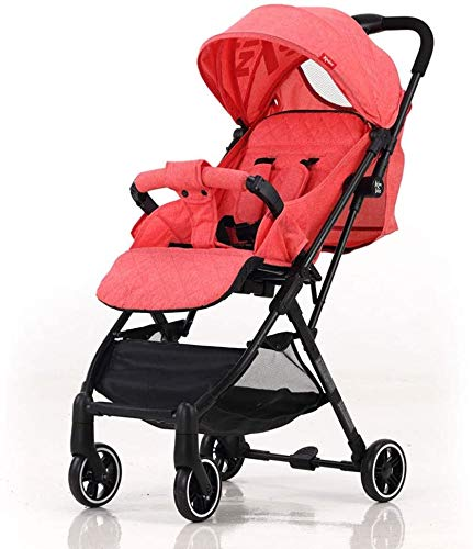 Fantastic Deal! DAGCOT Prams Toddler High Landscape, Lightweight Folding Seat Reclining Two-Way Shoc...