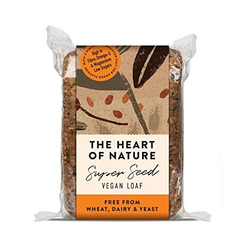 SEEDFUL THE HEART OF NATURE - entkerntes veganes Brot, ( Mehrstückpackung: 6 x 550g ), weizenfrei, reines Kornbrot, 3.3 kg