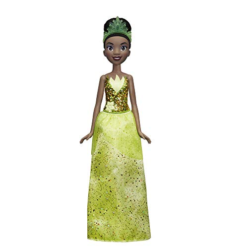Disney Princess Princess Brillo Real Tiana (Hasbro E4162ES2) , Color/Modelo Surtido