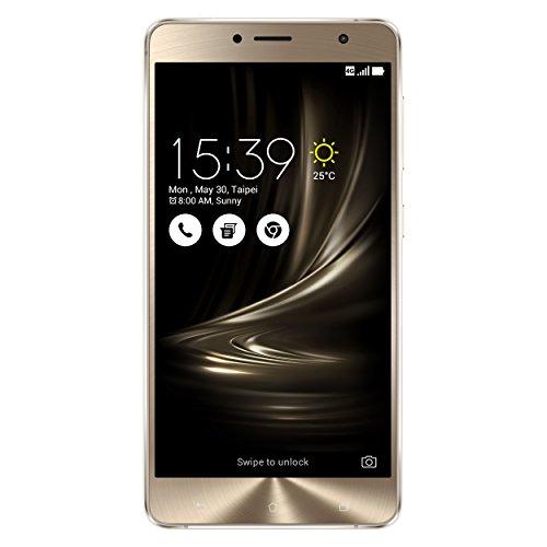 Asus ZenFone 3 Deluxe (ZS550KL) Smartphone (5,5 Zoll (14 cm) Full-HD Touch-Bildschirm, 64GB Speicher, Dual-SIM, Android 6.0) silber