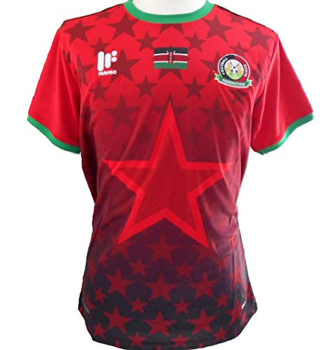 Mafro Sports Kenya Official Home Soccer Jersey 2017-2019 (Medium)