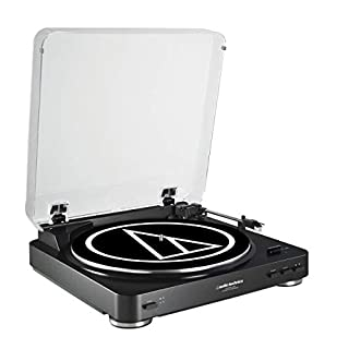 Audio-Technica ATLP60BKUSB USB Turntable, Black (B016YYFZS2) | Amazon price tracker / tracking, Amazon price history charts, Amazon price watches, Amazon price drop alerts