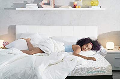 """CopperRest Sleep 13"""" King Copper/Gel Infused Latex Bed in a Box 