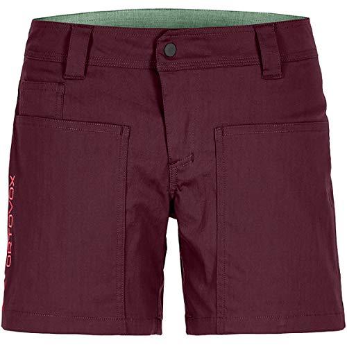 ORTOVOX Damen Engadin Shorts W Kurze Hose, Dark Wine, XL