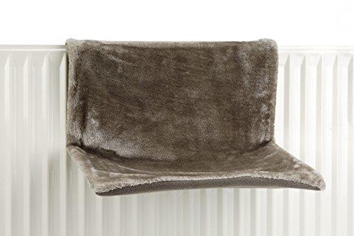 Beeztees 405300 Heizungshaengematte Sleepy, 46 x 31 x 24 cm, Grau