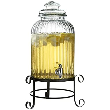 Style Setter Springfield 3 Gallon Beverage Dispenser with Stand