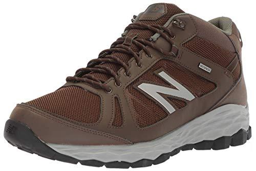 New Balance Men's Fresh Foam 1450 V1 Walking Shoe, Chocolate Brown/Team Away Grey, 12 M US