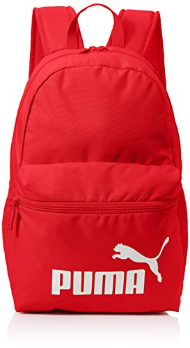 PUMA Unisex – Erwachsene Phase Backpack Rucksack, High Risk Red, OSFA