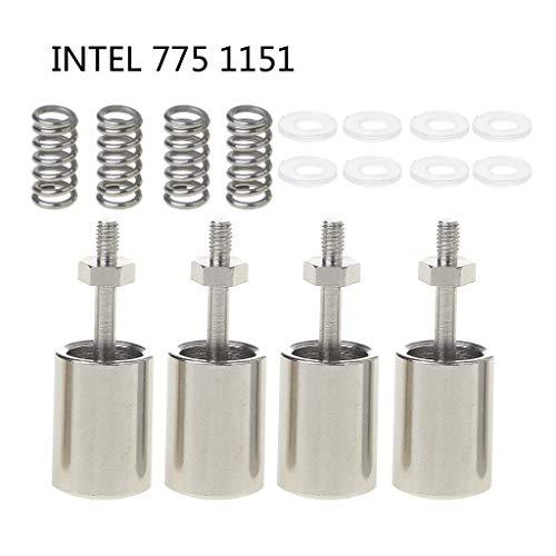 WINJEE,4PCS CPU Koeling Radiator Montage Vaste Schroeven Installeer Schroeven Voor Inter 1150 Platforms