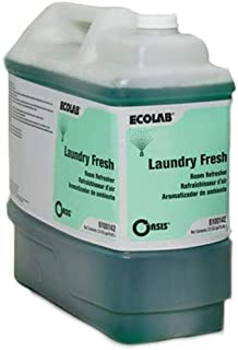 ECOLAB 6100142 Oasis LAUNDRY FRESH Room Refresher - One (1) 2.5 Gallon Resealable Bottle Per Order