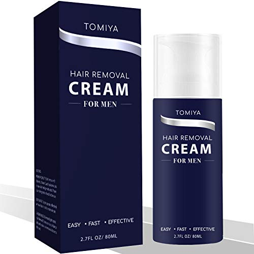 Hair Removal Tomiya Premium Men S Hair Removal Cream Skin Friendly Fast Effective Painless Formula With Aloe