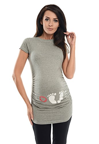 Purpless Maternity Printed Cotto...