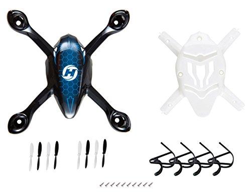 Holy Stone Rc Ersatzteile für Hs170 Quadrocopter Drohne inkl. Hülle , Schutzrahmen und 2 Paare Propellern