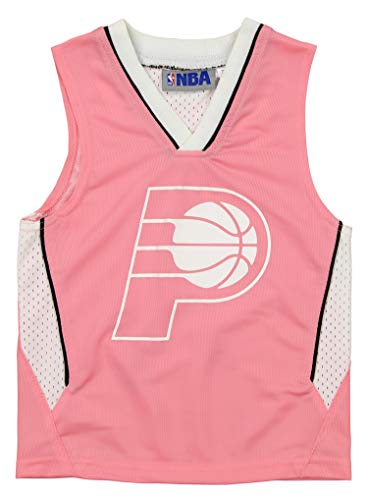 Outerstuff NBA Toddler Girl's Indiana Pacers Pink Jersey, Pink 2T