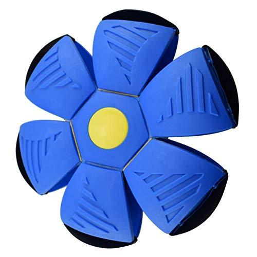 Yestter Frisbee-Verformung UFO-Ball Mit Lichter Magic Vent Ball Frisbee-Verformung Ball Eltern-Kind Hund Strand Kinder Spielzeug Bumerang