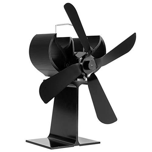 Schöne Optik Kamin-Ventilator Kamin Heizlüfter Überhitzungsschutz Kamin-Ventilator für Hotelzimmer