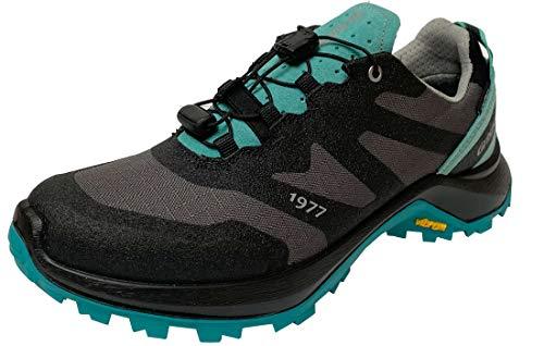 Grisport Kruis - Zapatillas de senderismo para hombre y mujer, impermeables, color Turquesa, talla 36 EU