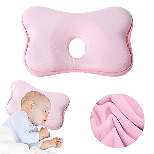 Babykopfkissen,Kissen Plattkopf Baby,Baby Kissen Kopfverformung,Plattkopf Babykissen,Kleines Babykopfkissen,Baby Flachkopf,Baby Memory Schaum Kissen,Baby Kissen