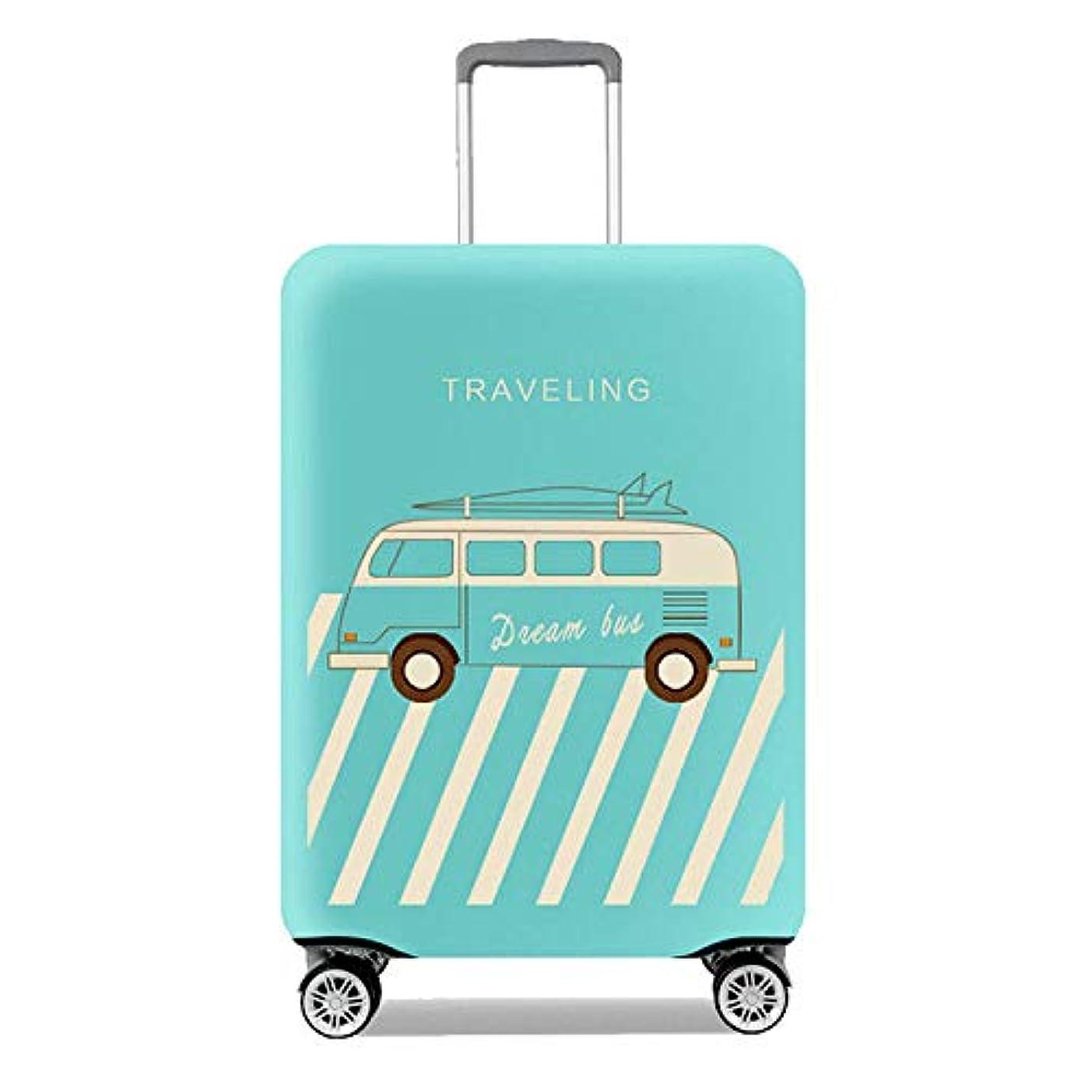 ヒューマニスティック手のひら大胆スーツケースカバー 伸縮弾性素材 トラベルダストカバー スーツケース保護カバー 通気性 傷防止 防塵カバー 1枚