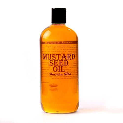 Mystic Moments Huile Végétale Graine de Moutarde - 500ml - 100% Pure