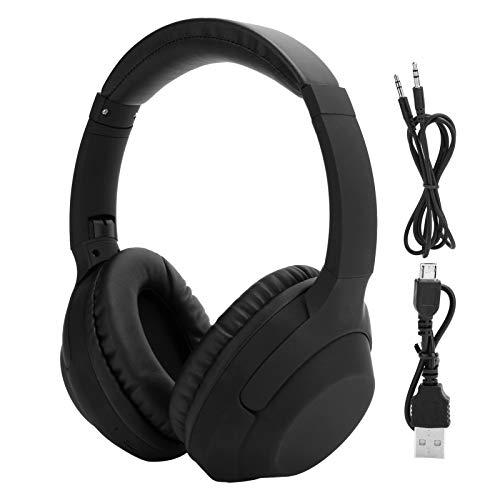 Headset Headset com bateria dupla Design estéreo Design de moda para uso com a pele Fone de ouvido estéreo de alta tecnologia com textura estéreo para escritório doméstico