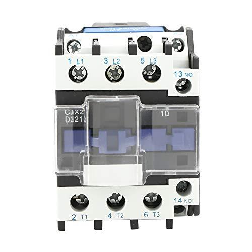 Dibiao Cjx2-3210 Contactor de Ca Eléctrico Industrial de Alta Sensibilidad 220V 32A