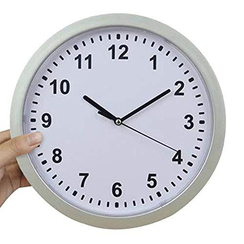 hufeng Reloj de Pared Reloj de Pared Reloj Seguro Oculto Seguro Caja Fuerte Secreta Reloj de Pared Seguro Oculto para alijo Secreto Dinero Efectivo Decoración de Joyas