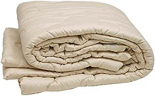 Sleep & Beyond 100 by 86-Inch Organic Merino Wool Comforter, King, Ivory