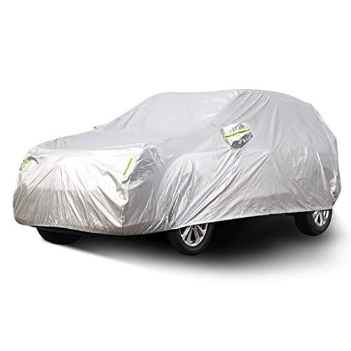 Cubierta del coche coche interior y exterior gruesa tela Oxford antiincrustantes Protección Solar lluvia caliente Modelos cubierta for Subaru interior del coche (Tamaño: 2017) LOLDF1 ( Color : 2018 )