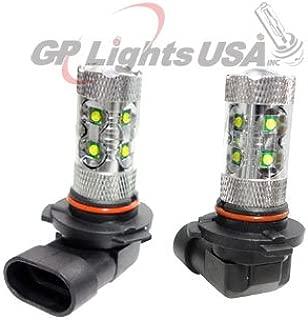 GP Thunder 9005 HB3 60W Cree LED High Power Super White Light Bulb for Honda Toyota Accent on High Beam Lights