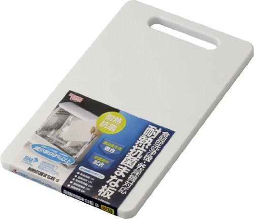 リス HOME&HOME 耐熱抗菌まな板 食器洗浄機 乾燥機対応 S 1枚 [0725]