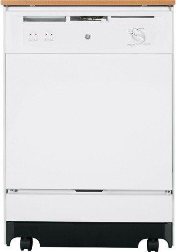 GE GSC3500NWW Portable Dishwasher 5 LVL (White)