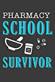 Pharmacy School Survivor: Pharmacist Notebook | Pharmacology Scientists Journal | Cornell Notes For Pharmacy Students and Industry Professionals | 110 Blank Pages 6x9 Inch Matte Finish Book
